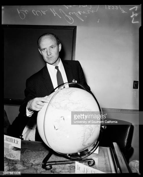 Orbit of Russian Satellite 7 October 1957 Doctor E RichtinDoctor HJ StewartDoctor HJ Richter JuniorDoctor William A PickeringDoctor JE...