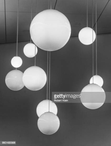 orbs - christmas background stock photos and pictures