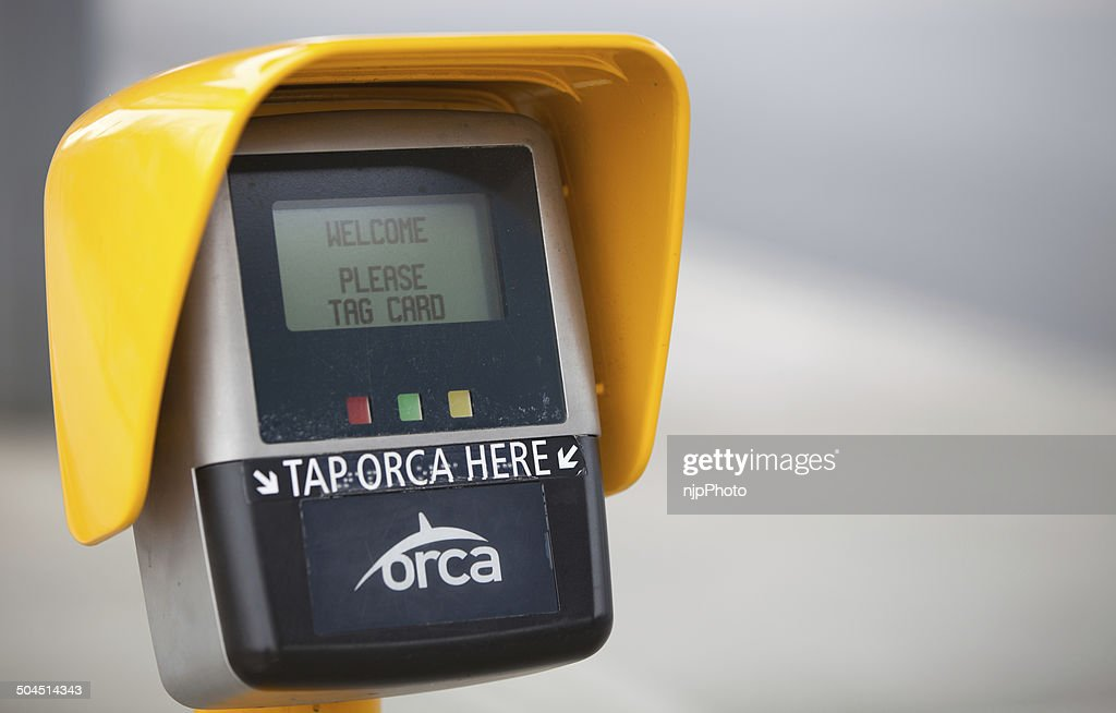 Orca Card Scanner Stock-Foto - Getty Images