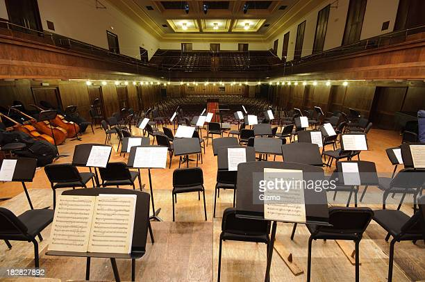 orchestra stage - concert hall stock pictures, royalty-free photos & images