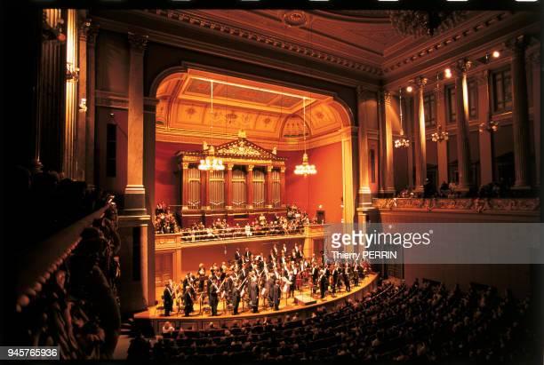 Orchestre philarmonique tch?que au Rudolphinum, Prague, Tch?quie.