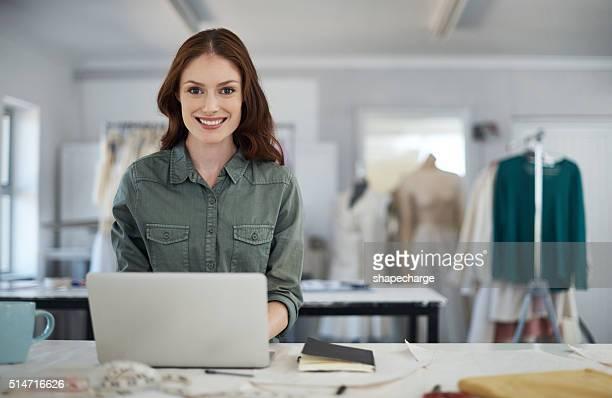 Eu ordem todos os meus tecido on-line