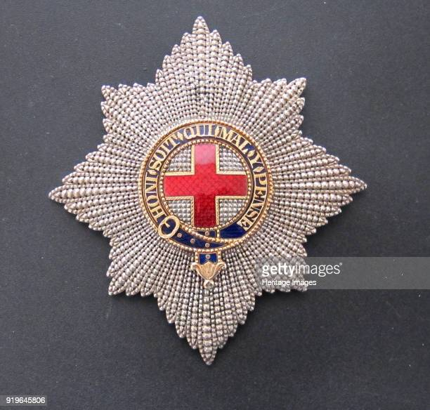 Order of the Garter Star ca 18101815 Private Collection