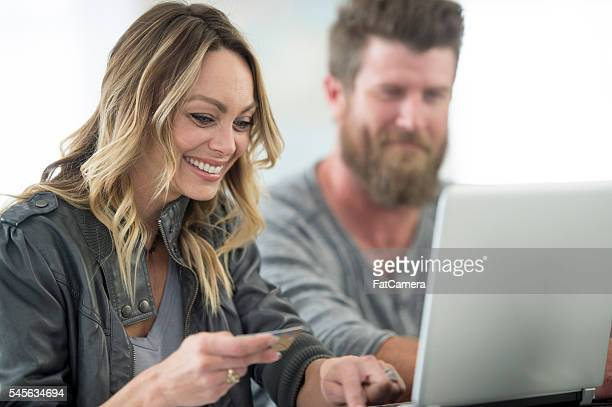 Ordering Items Online with a Credit Card