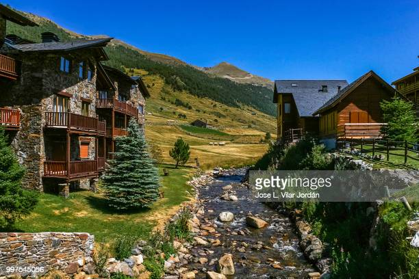 ordino,andorra - andorra stock pictures, royalty-free photos & images