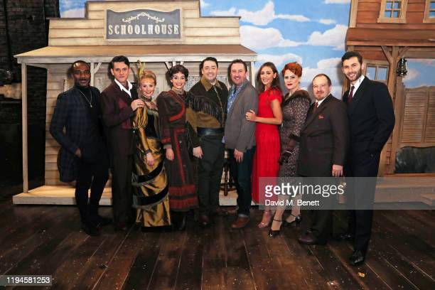 Ore Oduba, Samuel Holmes, Carley Stenson, Leah West, Jason Manford, Lee Mack, Catherine Tyldesley, Rebecca Lock, Mark Sangster and Andy Coxon at the...
