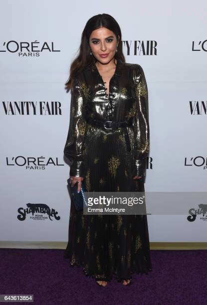 Oreal influencer Sona Gasparian attends Vanity Fair and L'Oreal Paris Beauty Suite at Four Seasons Hotel Los Angeles at Beverly Hills on February 21...