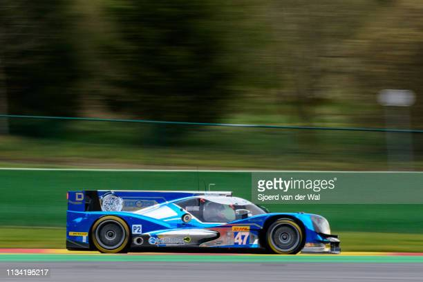 Oreca 05 race car driving on track during the 6 Hours of SpaFrancorchamps race the second round of the 2015 FIA World Endurance Championship's at...