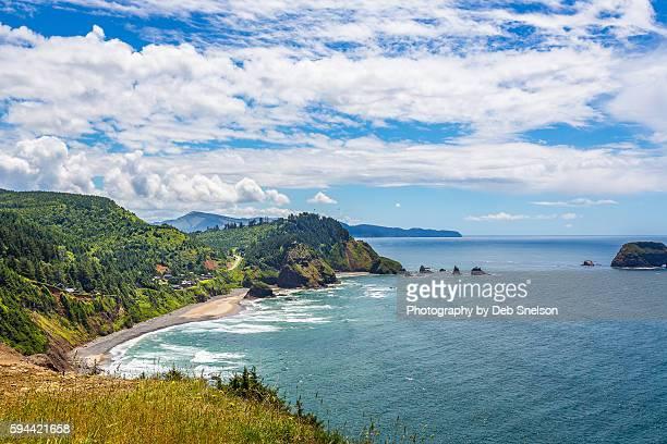 Oregon Coastal Paradise seen from Cape Meares