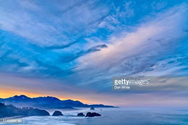 oregon coastal region of the united states - oregon coast stock pictures, royalty-free photos & images