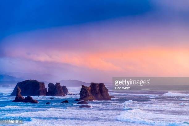oregon coastal region of the united states - pacific northwest stock pictures, royalty-free photos & images