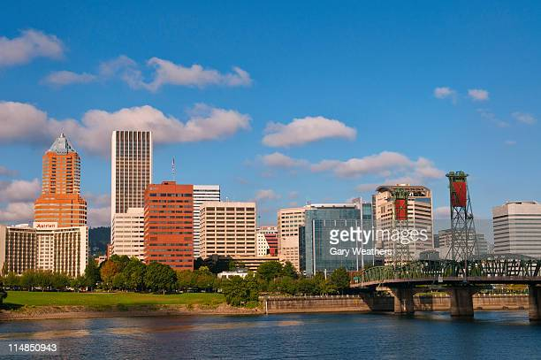 USA, Oregon, Portland skyline