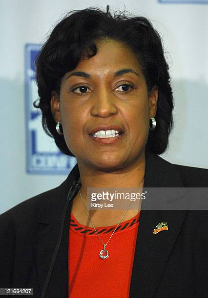 Oregon State coach LaVonda Wagner at Pacific10 Conference Women's Basketball Media Day at the HP Pavilion in San Jose Calif on Tuesday November 7 2006