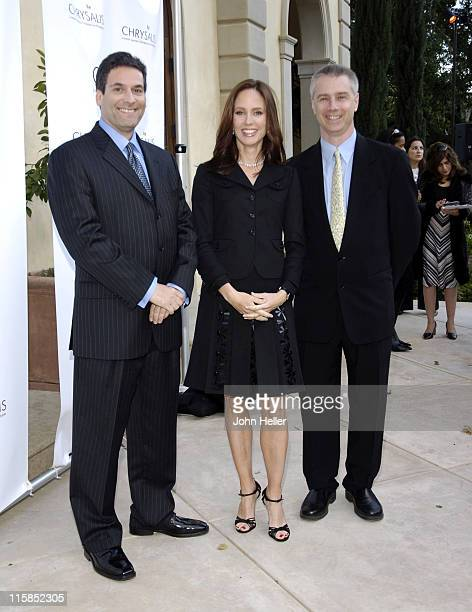Oren Aviv executive of Walt Disney pictures Dana Walden president Twentieth Century Fox Television and Adlai W Wertman presidnt/CEO Chrysalis