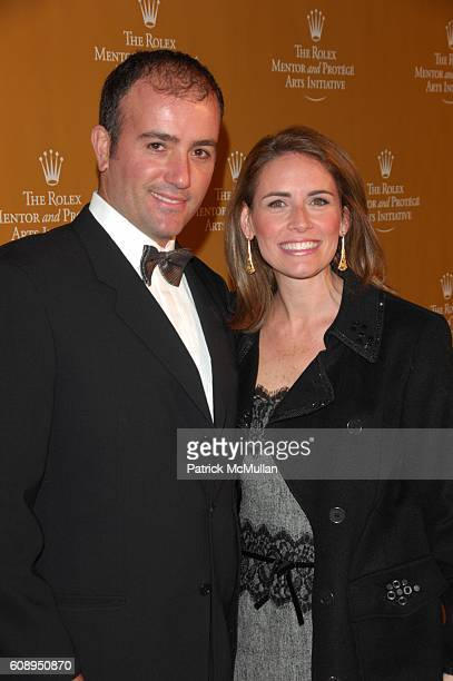 Oren Glick and Alexis Glick attend ROLEX Mentor and Protege Arts Initative at Lincoln Center NYC on November 12 2007