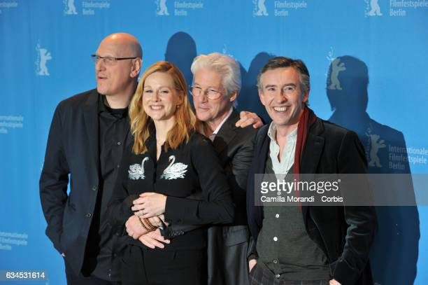 Oren MovermanRichard Gere Steve Coogan and Laura Linney attend the 'The Dinner' photo call during the 67th Berlinale International Film Festival...