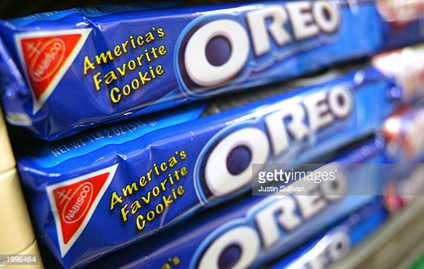 Oreo Cookies are seen May 13 2003 in San Francisco Attorney Stephen Joseph filed a lawsuit in the Marin County Superior Court May 1 2003 seeking a...
