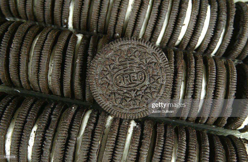 Lawsuit Seeks To Ban Oreo Cookies In California : News Photo