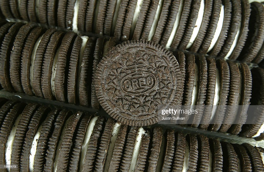 Oreo Cookies are seen May 13, 2003 in San Francisco. Attorney Stephen Joseph filed a lawsuit in the Marin County Superior Court May 1, 2003 seeking a ban on Oreo Cookies in California arguing that the trans fats that make the filling creamy and cookie crunchy are dangerous for children to eat.