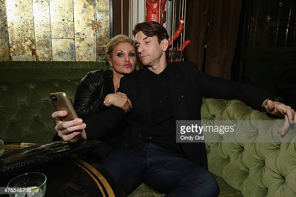 Orfeh and Andy Karl attend the 2015 Tony Honors Cocktail Party at Diamond Horseshoe at the Paramount Hotel on June 1 2015 in New York City