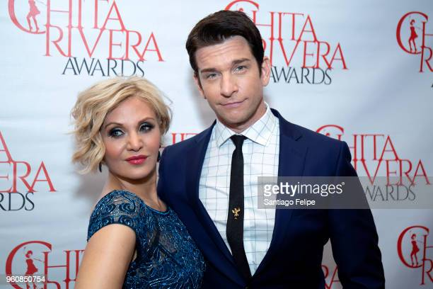 Orfeh and Andy Karl attend the 2018 Chita Rivera Awards at NYU Skirball Center on May 20 2018 in New York City