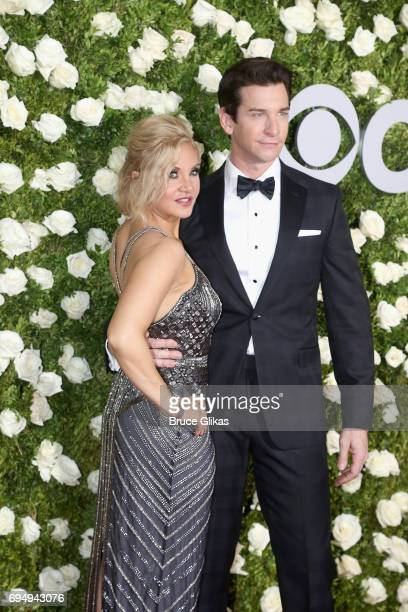 Orfeh and Andy Karl attend the 71st Annual Tony Awards at Radio City Music Hall on June 11 2017 in New York City