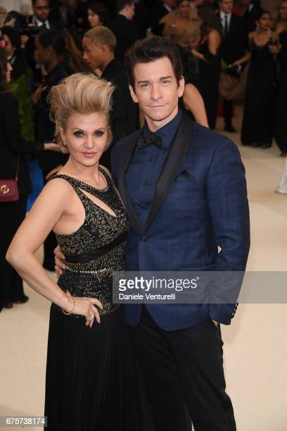 Orfeh and Andy Karl attends 'Rei Kawakubo/Comme des Garcons Art Of The InBetween' Costume Institute Gala Arrivals at Metropolitan Museum of Art on...