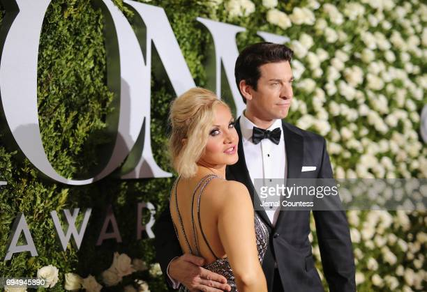 Orfeh and Andy Karl attends the 2017 Tony Awards at Radio City Music Hall on June 11 2017 in New York City