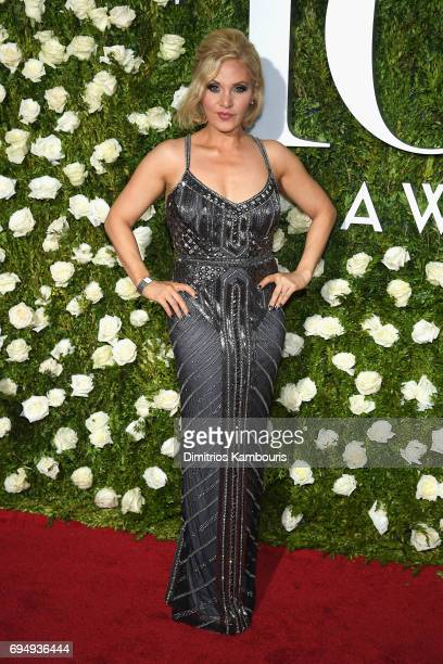 Orfeh attends the 2017 Tony Awards at Radio City Music Hall on June 11 2017 in New York City