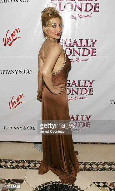 Orfeh during Legally Blonde The Musical Opening Night After Party Hosted by Vavoom at Cipriani's in New York City New York United States