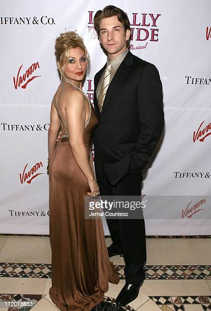 Orfeh with Andy Karl during Legally Blonde The Musical Opening Night After Party Hosted by Vavoom at Cipriani's in New York City New York United...