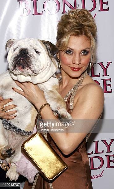 Orfeh with Rufus during Legally Blonde The Musical Opening Night After Party Hosted by Vavoom at Cipriani's in New York City New York United States