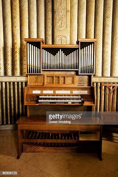 Organ in a church