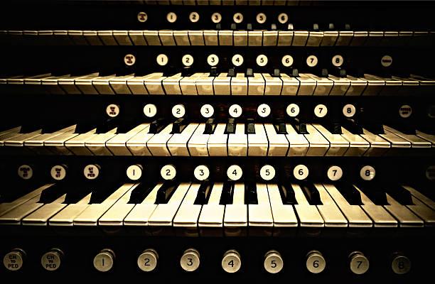 Organ Keys Wall Art