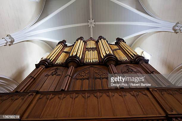 organ pipes in down cathedral