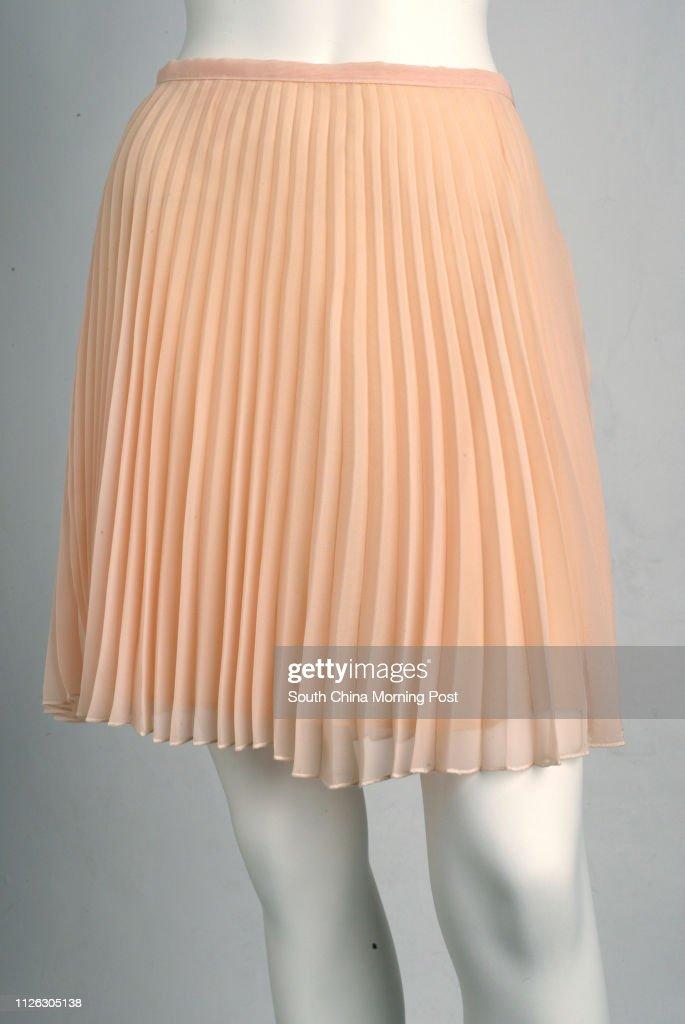 Organdie pleated skirt from Kookai. 18 November 2003 News Photo ... 2d3d7eaa1