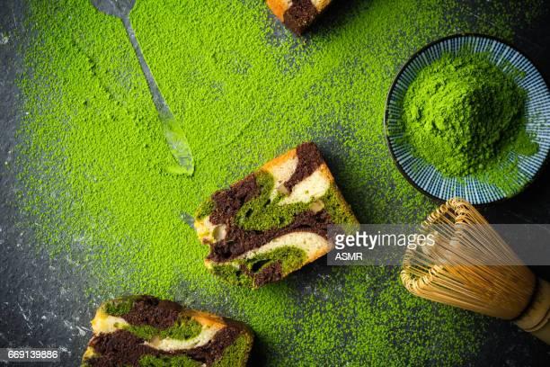 Bio au thé vert Matcha