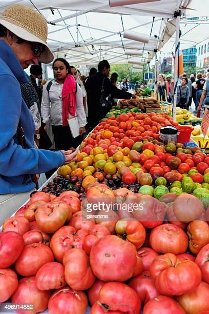 有機食品市場 - ユニオンスクエア ストックフォトと画像
