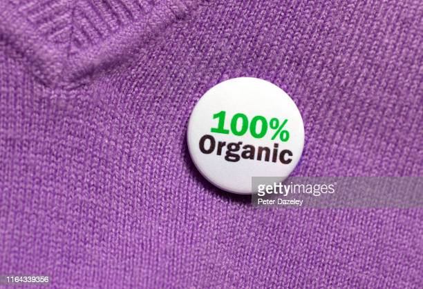 100% organic - label stock pictures, royalty-free photos & images