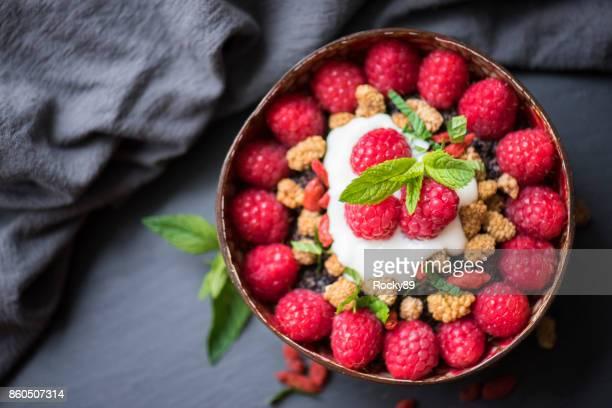 Organic Porridge with Berries