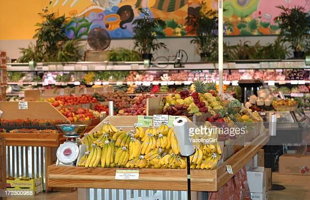 Produits bio marché