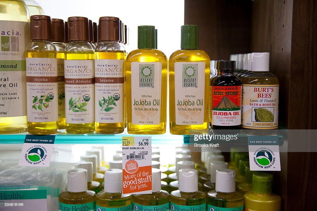 Organic skincare, health and beauty products at a Whole Foods