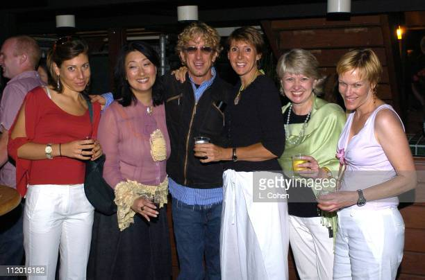 Organic Style Magazine's Jessica Lothstein Jeanie Pyun Denise Favorule Bernadette Harrison Haley and Susie Quick with Andy Dick
