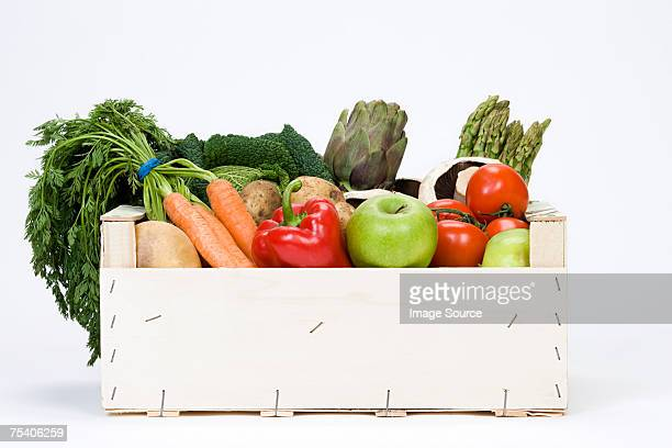organic vegetables - fruit stock pictures, royalty-free photos & images
