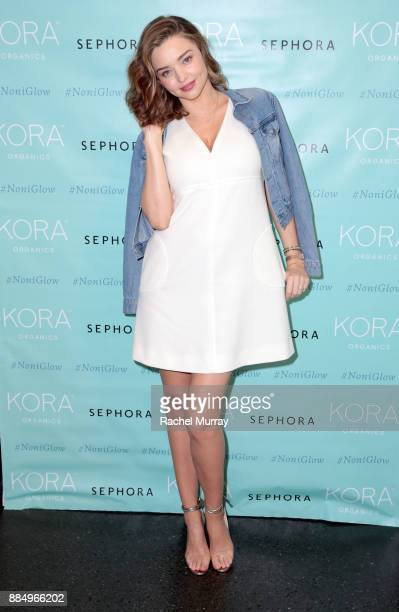 Organics personal appearance with Miranda Kerr at Sephora in Santa Monica on December 3 2017
