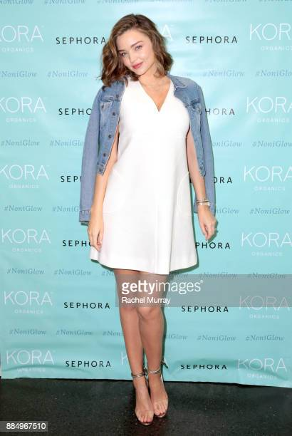 Organics personal appearance with Miranda Kerr at Sephora in Santa Monica on December 3 2017