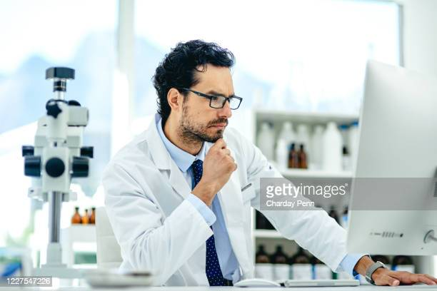 organising new data for his current research - computer equipment stock pictures, royalty-free photos & images