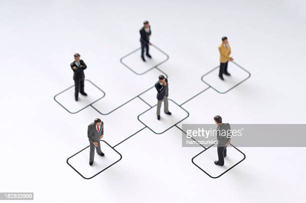 organization chart - human representation stock pictures, royalty-free photos & images