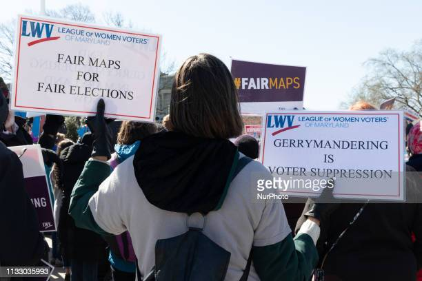Organizations and individuals gathered outside the Supreme Court argue the manipulation of district lines is the manipulation of elections. The...