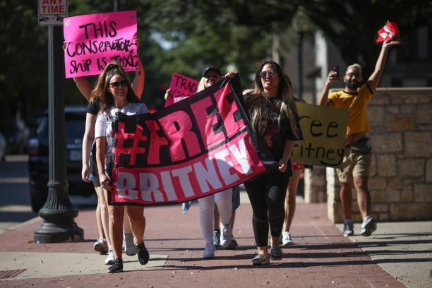 TX: #FreeBritney Dallas Rally
